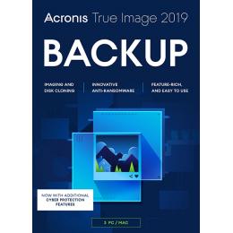 Backup & Repair: Acronis True Image 2019 3PC/MAC
