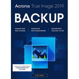 Backup & Repair: Acronis True Image 2019 5PC/MAC