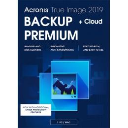 Acronis True Image Premium 1Device 1Year