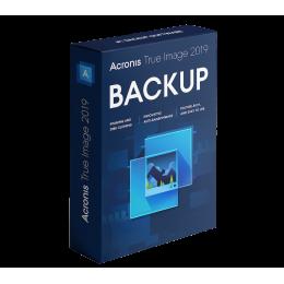 Backup & Repair: Acronis True Image 2019 1PC/MAC (2020-upgrade)