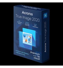 Acronis True Image Premium 2020 5Devices 1Year