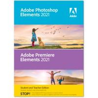 Multimedia: Adobe Photoshop + Premiere Elements 2021 | Windows | Multilanguage | Student & Teacher edition