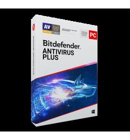 Bitdefender Antivirus Plus 2020 1PC 1year