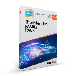 Security: Bitdefender Family Pack 2019 2years 15-Devices