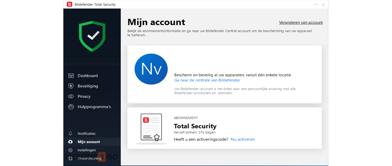 Bitdefender Total Security 2020 | 5Apparaten - 1jaar | Windows - Mac - Android - iOS