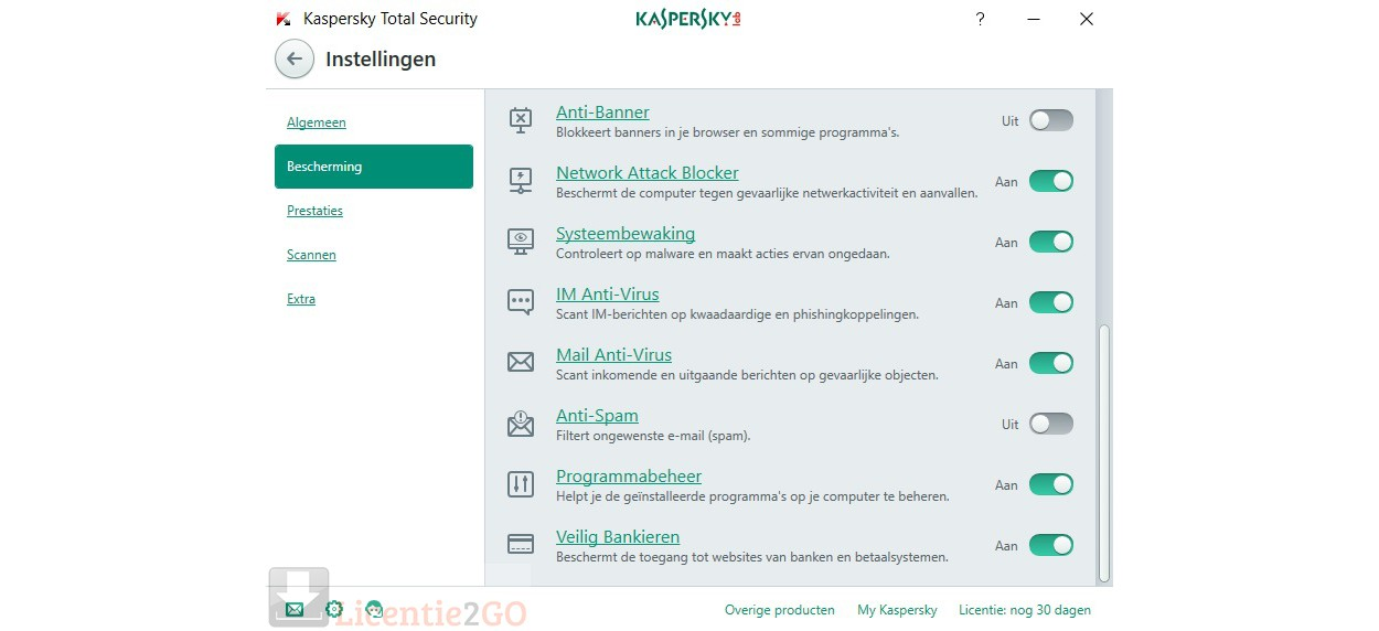 Kaspersky Total Security 2019 10Devices 1year