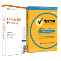 Office for home use: Voordeelbundel: Office 365 + Norton Security Standard