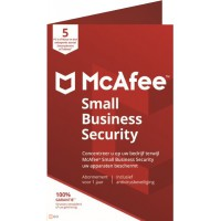 Goedkoopste antivirus: McAfee Small Business Security 2020 5 Devices 1year