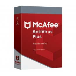 Security: McAfee AntiVirus Plus 2020 1device 1year