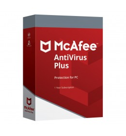 McAfee AntiVirus Plus 2020 10devices 1year