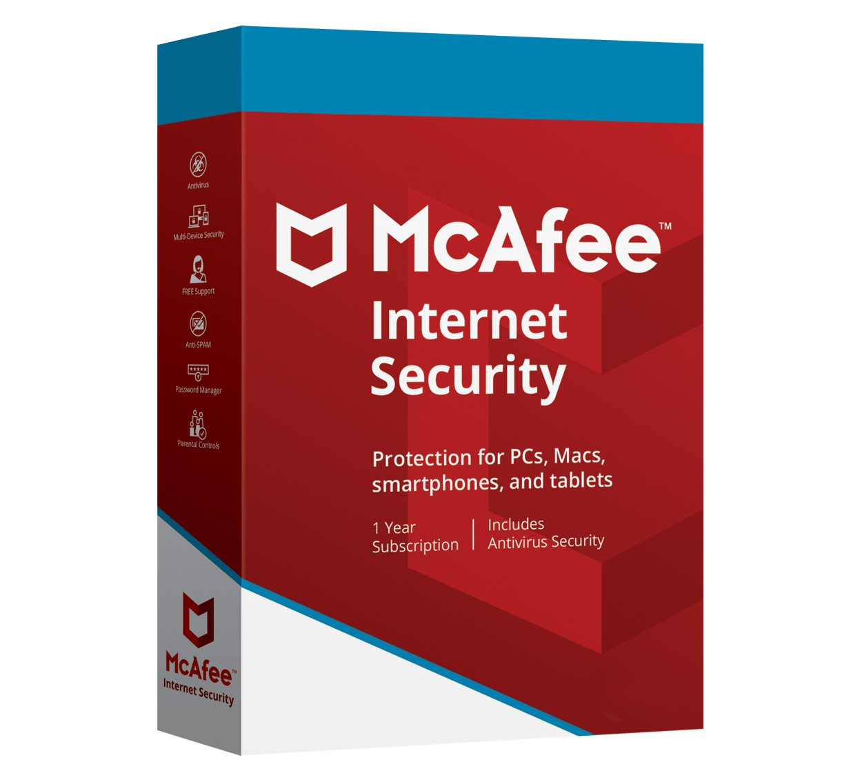 McAfee Internet Security Multi-Device 3Devices 1year 2019