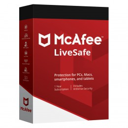 McAfee LiveSafe unlimited devices 1 year