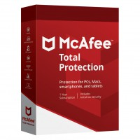 Internet Security: McAfee Total Protection Multi-Device 3Devices 1year 2020
