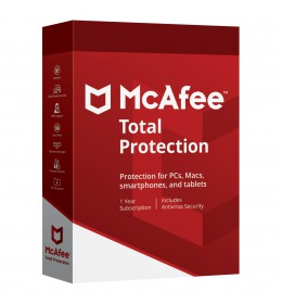 McAfee Total Protection Multi-Device 5Devices 1year 2020