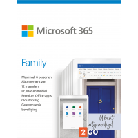 Microsoft 365 Family - 6 users 1 year