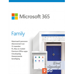 Office 365: Microsoft 365 Family - 6 users 1 year