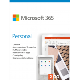 Office 365: Microsoft 365 Personal 1User 1year