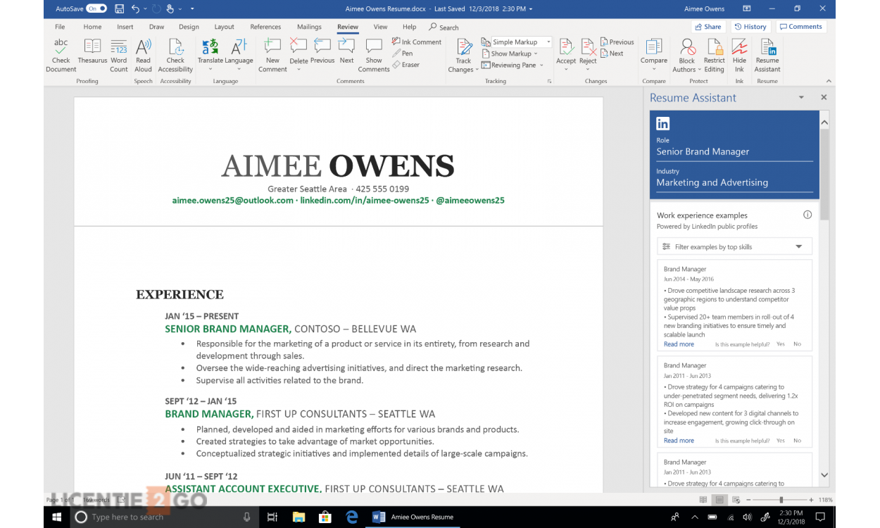Microsoft Office 2019 Thuisgebruik & Zelfstandigen Windows + Mac