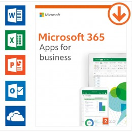 Microsoft: Microsoft 365 apps for business Annual subscription | 1User | 15 Devices
