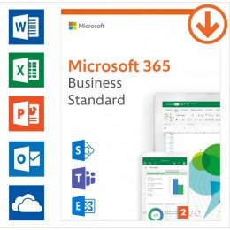 Microsoft: Microsoft 365 Business Standard | Annual subscription | 1User | 15 Devices