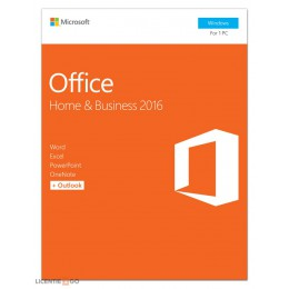 Microsoft: Microsoft Office 2016 Home & Business 1PC Windows