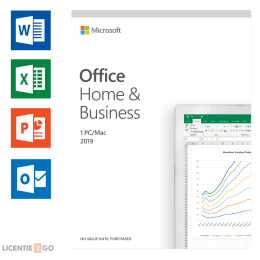 Microsoft: Microsoft Office 2019 Home & Business Windows + Mac