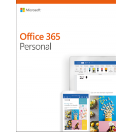 Microsoft: Microsoft Office 365 Personal 1User 1year