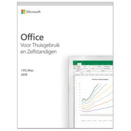 Office producten: Microsoft Office 2019 Thuisgebruik & Zelfstandigen Windows + Mac