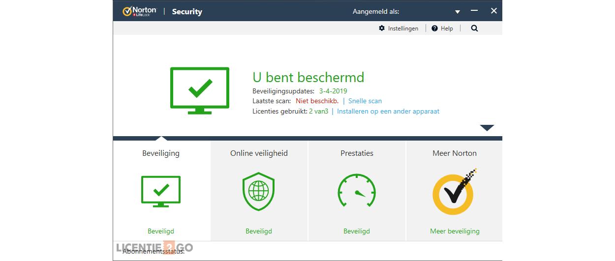 Norton Security Deluxe 3-Apparaten 1jaar 2019 - Antivirus inbegrepen - Windows | Mac | Android | iOS