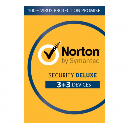 Security: Norton Security Deluxe 6-Devices 1year 2020 -Antivirus Included- Windows | Mac | Android | iOs