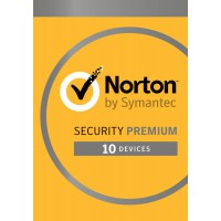 Norton Security Premium 10-Devices + 25GB Backup 1year