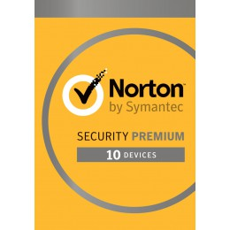 Antivirus: Norton Security Premium 10-Devices + 25GB Backup 1year