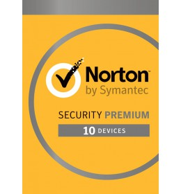 Norton Security Premium 2020 - 10-Devices + 25GB Backup 1year