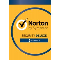 Norton Security Deluxe 5-Devices 1year 2019 -Antivirus included- Windows | Mac | Android | iOS