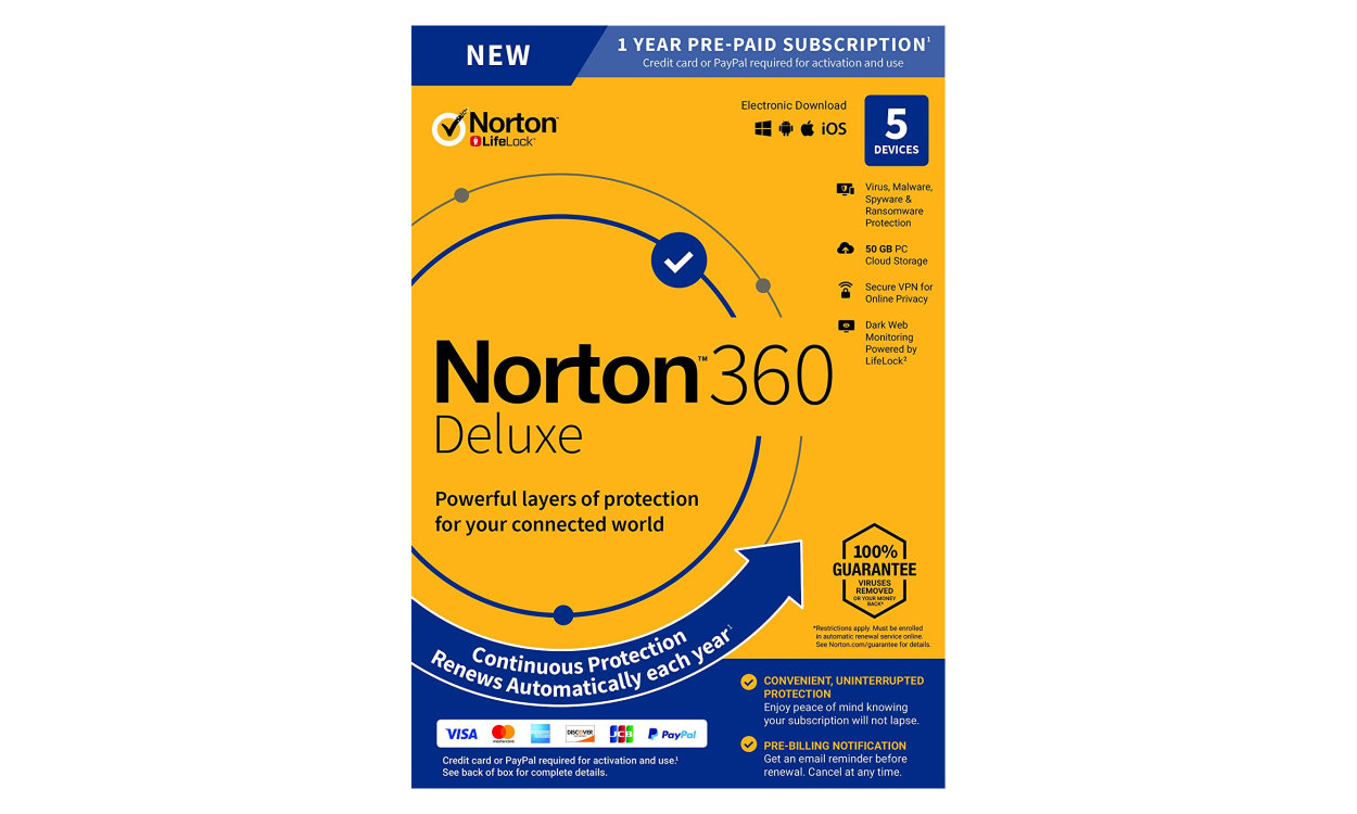 Norton Security Standaard 1 Device1year Purchase For A