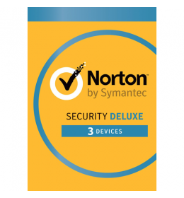Norton Security Deluxe 3-Devices 1year 2019 - Antivirus Included - Windows | Mac | Android | iOs