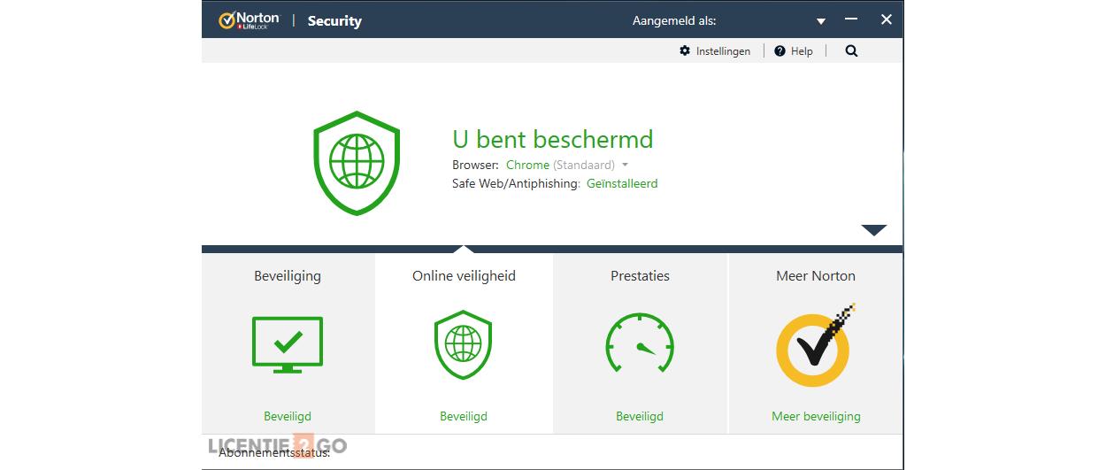 Norton Security Standaard 1-Apparaat 1jaar 2020