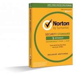 Mobile Security: Norton Security Standaard 1-Apparaat 1jaar 2020
