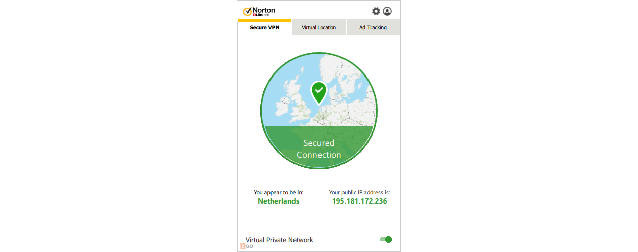 Norton WiFi Privacy 5-Devices 1year
