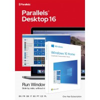 Parallels Desktop 16 for Mac | 1Year | 1 installation + Windows 10 Home (N)