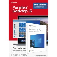 Windows on your Mac: Parallels Desktop 16 PRO for Mac | 1Year | 1 installation + Windows 10 Pro