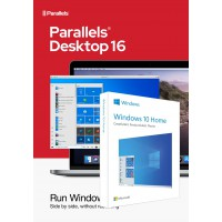 Operating Systems: Parallels Desktop 16 for Mac | One-time purchase | 1 installation + Windows 10 Home (N)