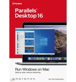 Parallels Desktop 16 for Mac   1Year   1 installation