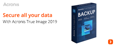 Secure all your data with Acronis True Image