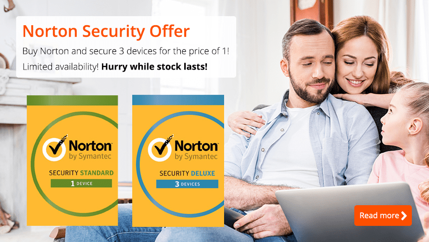 Norton Security Sale - 3 for 1