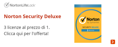 Norton Security Deluxe  Promo a 3 dispositivi